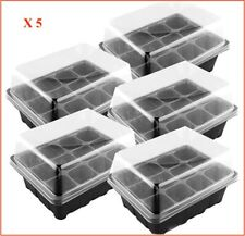 30 x 15 cellules Bac à Graines insère Full Size Plug plateaux Literie Plante Pack