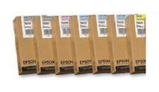 7 X Original Encre Epson Stylus Pro 9800 7800/T6034 T6035 T6037 T6039 T603C