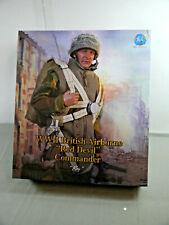 DID WWII Britannique Airborne Rouge Diable Commandant Roy 1/6 Nouveau Ovp L