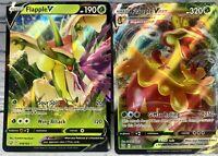 Pokemon TCG Flapple V 019/163 & VMAX 018/163 Battle Styles Pack Fresh Mint!!