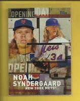 Noah Syndergaard 2018 Topps Opening Day Insert Card # OD-9 New York Mets MLB