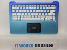 TESTED HP STREAM 13-C020NA PALMREST UK KEYBOARD TOP CHASSIS COVER