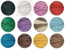 4 Spools x 205 ft ea ~ 1mm 20# test HEMP CORD/Twine U-PICK (Limited COLORS )