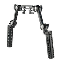 Niceyrig 360° Rotation Standard ROSETTE ARRI Cheese Handle Shoulder Mount Rig