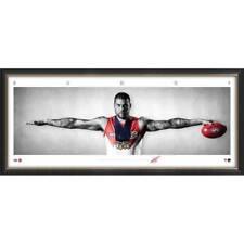 Buddy Franklin Signed Sydney Swans Mini Wings Official AFL Print Framed - NEW