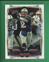 Tom Brady 2014 Topps Card # 52 New England Patriots Football NFL GOAT