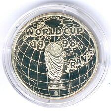 Medalla coupe du monde-World Cup 1998 France, sueltos, UNC.