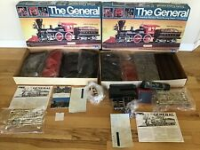 1980 The General 4-4-0 American Standard Wood-Burning Steam Locomotive Kits Two!