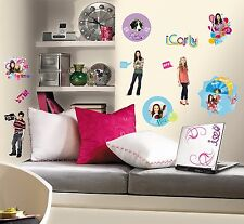 Roommates iCarly Peel & Stick Wall Decals Nickelodeon TV Show ICARLY Stickers