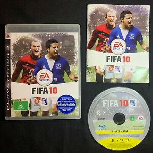 FIFA 10 - Sony PlayStation 3 Soccer PAL Game PS3 Complete w/ Manual + FREE POST