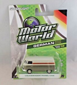 Greenlight Motor World German Edition Volkswagen Panel Van Series 12 NIP 1:64
