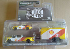 Greenlight Hitch & tow 2019 Ford F-350 Lariat & 2021 Ford Mustang Shell (carton)