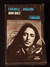 Joan Baez-Farewell, Angelina-Early 1970's Black Slipcase Cassette-SEALED!
