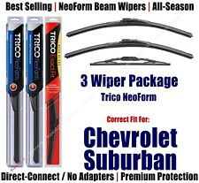 3-Pack Wipers Front & Rear NeoForm - fit 2015+ Chevrolet Suburban - 16220x2/13-1