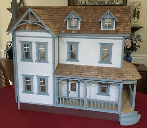 Handcrafted DOLLHOUSE Large Vintage Custom-Built MUST PICK UP