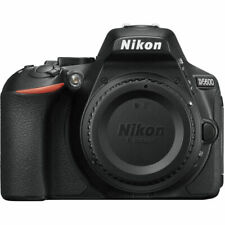 Nikon D5600 24.2MP Digital SLR Camera - Black (Body, Battery & Charger Only)