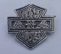 OLDER GUNS N ROSES CAST METAL Pin Badge SLASH AXL ROSE #3