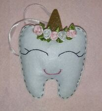 Personalised  unicorn Tooth Fairy Pillow