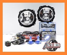 For 2007-2012 Ford Escape Fog Lights Clear Lamp Putco H16 Halogen Wiring Harness
