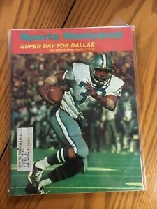 FM3-9 Sports Illustrated Magazine January 24 1972 SUPER BOWL Cowboys