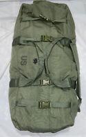 Genuine US Military ZIPPERED Army/Navy Duffel Bag, Nylon #8465-01-604-6541/GC