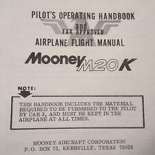 Mooney M20K  Pilot's Operating Manual