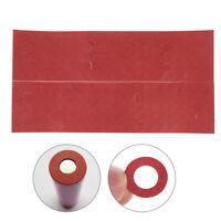 200pcs 18650 battery insulator insulation ring adhesive cardboard paper  Fg