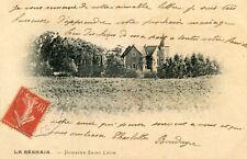 Carte ALGERIE LA REGHAIA Domaine Saint Léon