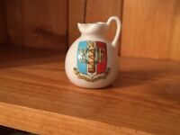 French Republic Roman Ewer. A And S Stoke On Trent. Arcadian Crested Ware C 1920