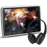 "10.1"" Ultra Thin Portable Digital HD TFT LCD Headrest DVD Player Car Multimedia"