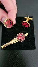 MG Owners Cuff Links & Tie Clip