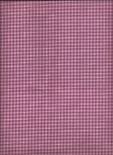 """""""Bella Rosa"""", Pink check print, Rjr, Quilting Fabric Bty"""