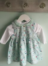 Baby Girls Pretty Floral Cord Dress Winter Outfit 3-6 Months Mini Club