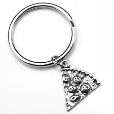 Slice Pizza Key Ring Keychain Bff Best Friend Forever Friendship Family Gift