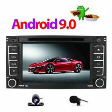 Android 9.0 Car Stereo For VW T5 Multivan 2004-2011 TOUAREG CD GPS SatNav BT UK