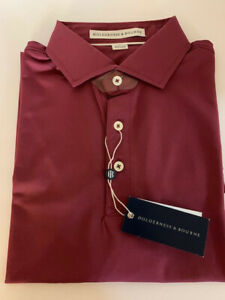 Holderness & Bourne The McDonald Shirt - L, Bahama Wine, NWT