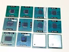 12 x Intel CPU T1600 T2300 T2400 T4300 T5500 T7100 T7300 P8700 CEL P4 AMD Turion