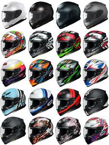 Shoei NXR Full Face Motorcycle Motorbike Premium Helmet RF-1200