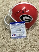 Jake Fromm Autographed Georgia Bulldogs Football Mini Helmet NFL Rare!! PSA COA