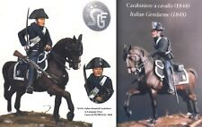 ss 54mm - Carabiniere a cavallo in tenuta da campagna - Carica di Pastrengo 1848