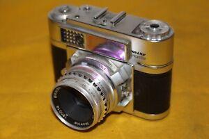Braun Paxette Super II 8 L mit Braun Color Ultralit 2,8/50 Staeble