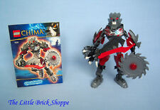 Rare Lego Legends of Chima 70204 CHI WORRIZ - Complete figure with instructions