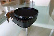 """Canon Filter, 72mm """"CCB12"""" 3x: MINT CONDITION with Case"""