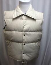 Men's Vintage Struggle Gear William Barry Goose Down Vest Puffer Jacket Large