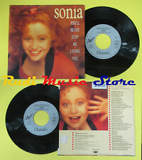 LP 45 7'SONIA You'll never stop me loving you 1989 france CHRYSALIS no cd mc dvd