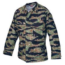 Vietnam Tiger Stripe Camo BDU Uniform Men's Mil-Spec Jacket by TRU-SPEC 1590