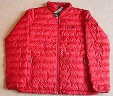 Mens M Mountain Hardwear Micratio 550 Down Ski Snow Hike Jacket Red