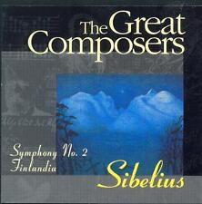 SIBELIUS - SYMPHONY NO 2 + FINLANDIA / PRO MUSICA SYMPHONY / GYORGY ALEXANDROV