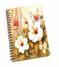 Floral Print New Cover Blank Kraft Papers Sketchbook Journal Diary Note Book