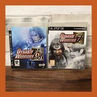 Dynasty Warriors PS3 Game Bundle - DW 6 and DW 7 - PlayStation 3 Complete Manual